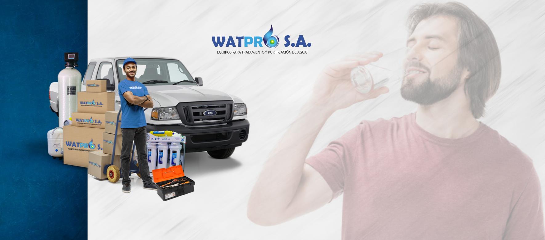 Purificadores de Agua envio a nivel nacional watpro